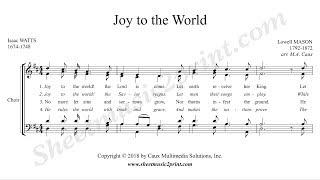 Joy To The World Choir SATB.mp3