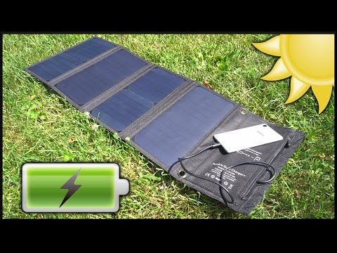 Are solar chargers worth it?? (with charge test)