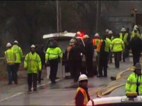 Raw: Rescue Crews at Scene of Ohio Plane Crash