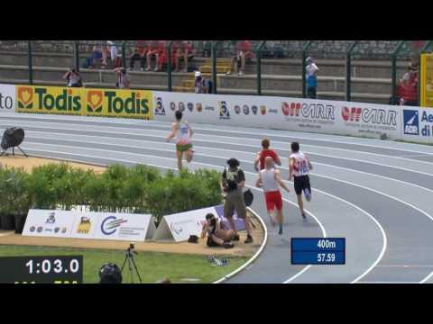 Men's 800 m  T20 | semi1 | 2016 IPC Athletics European Championships Grosseto
