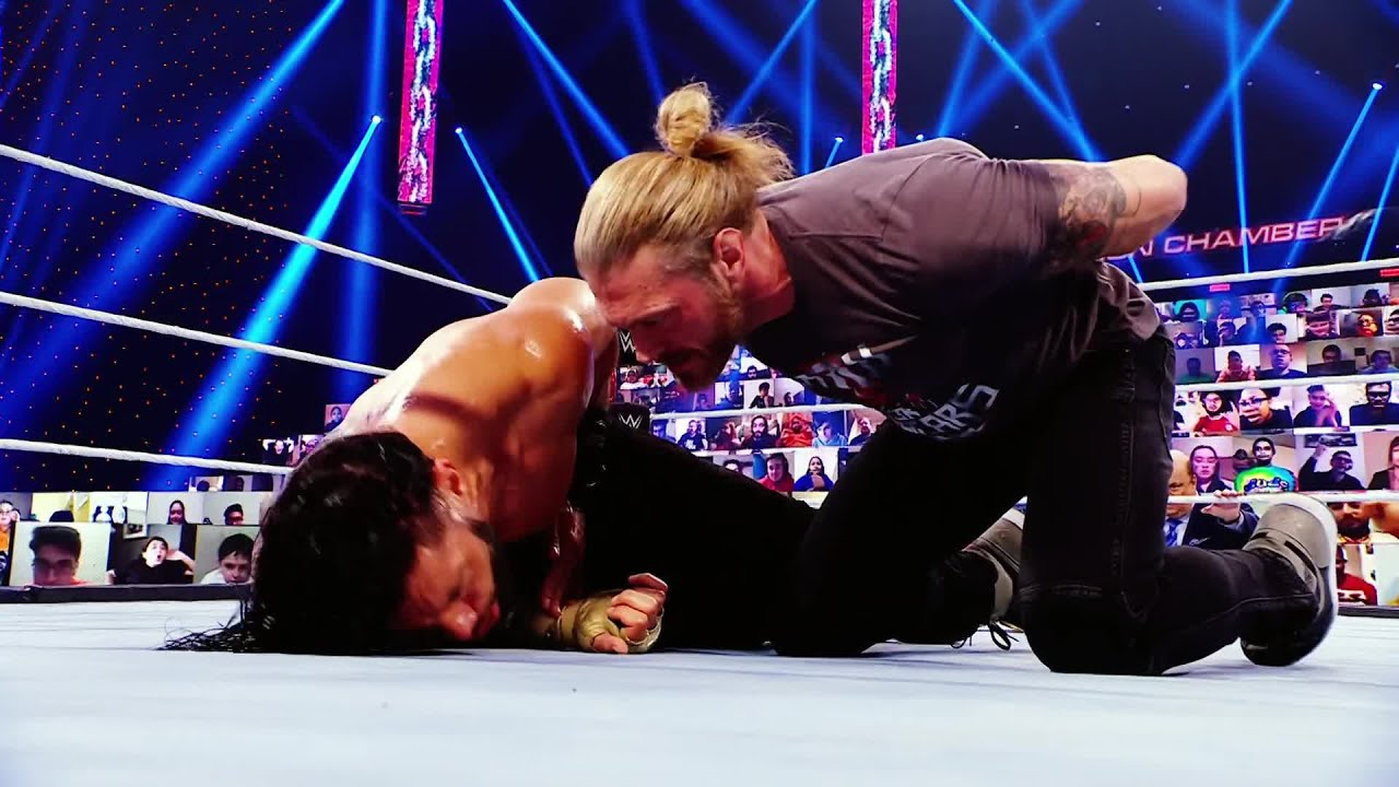 Edge and Roman Reigns continue their Road to WrestleMania this Friday