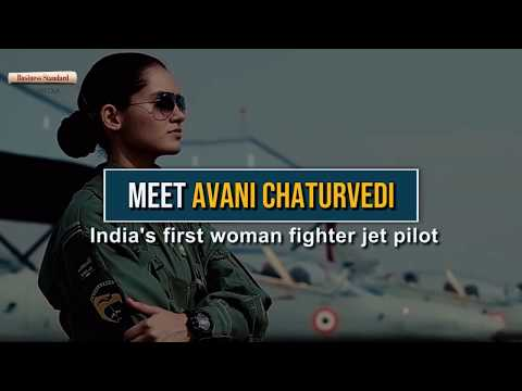 Meet Avani Chaturvedi: India's first woman fighter jet pilot