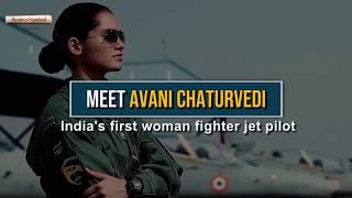Meet Avani Chaturvedi: India's first woman fighter jet pilot