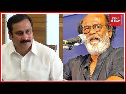 PMK Leader, Anbumani Ramadoss Slams Rajinikanth's Political Ambitions