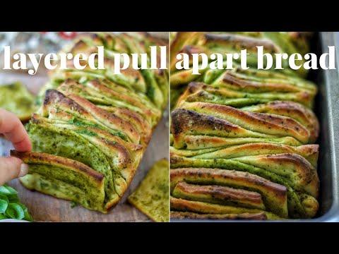 EASY PULL APART BREAD [VEGAN HOLIDAY APPETIZER & 3 INGREDIENTS] | PLANTIFULLY BASED