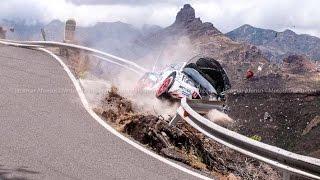 Jan Černý crash - Rally Islas Canarias