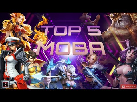 TOP 5 MOBA GAMES | ANDROID & IOS