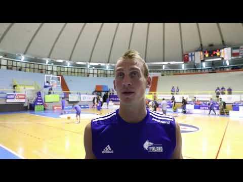 Alex Murphy - Italia vs Suomi - Cagliari