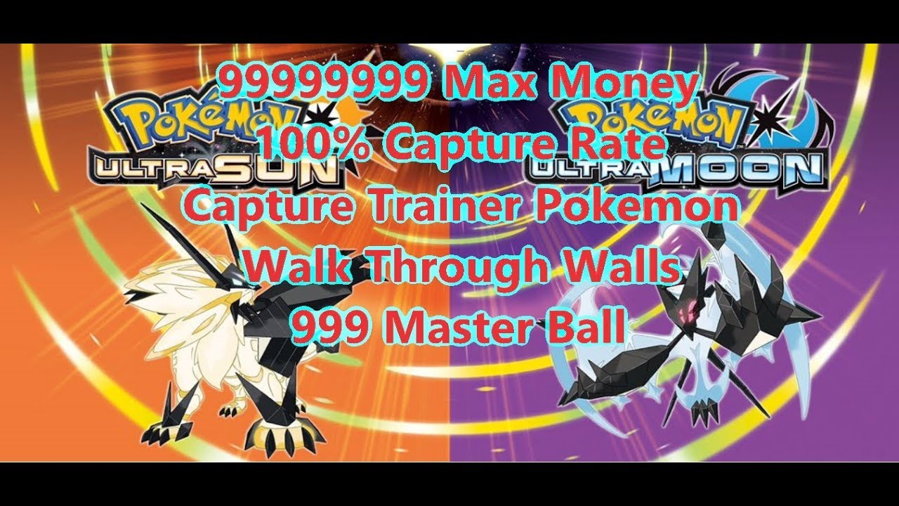 <b>Cheat Code Pokemon</b> Ultra <b>Sun</b> &amp; Ultra Moon - YouTube