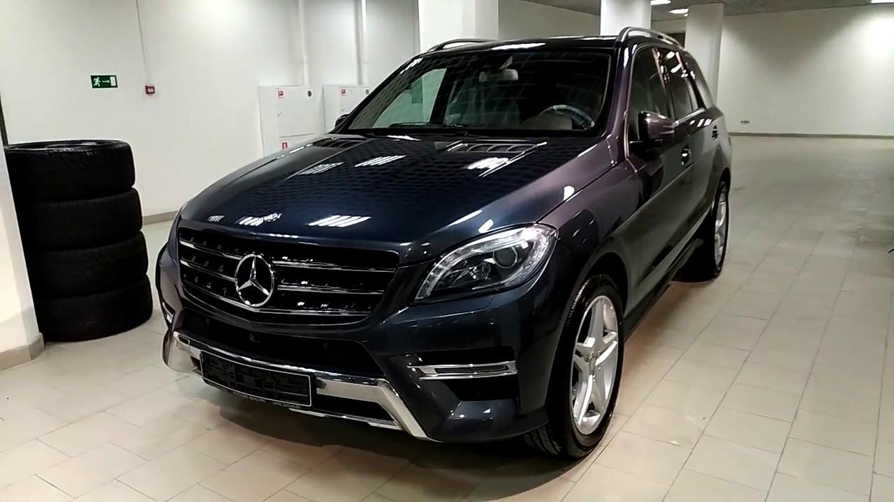 Купить Mercedes-Benz M-класса 2013 года (W166) AMG черный бензин .