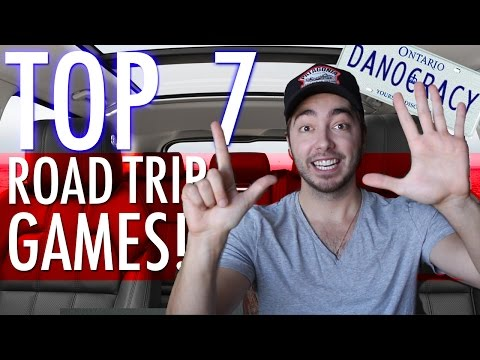 Top 7 ROAD TRIP GAMES!
