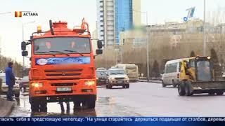 Штормовое предупреждения обьявлено практически во всех областях Казахстана