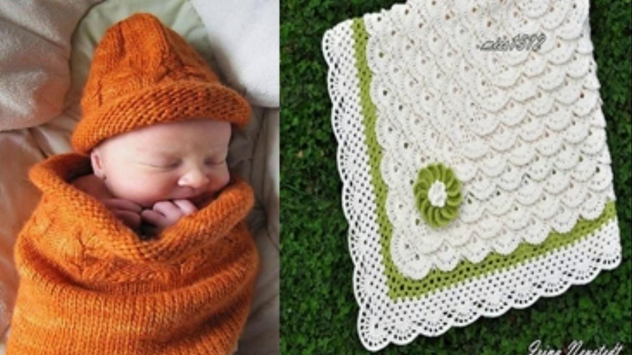 Colchas de bebe nuevos dise os hechos de lana y hilo - Colchas de crochet paso a paso ...