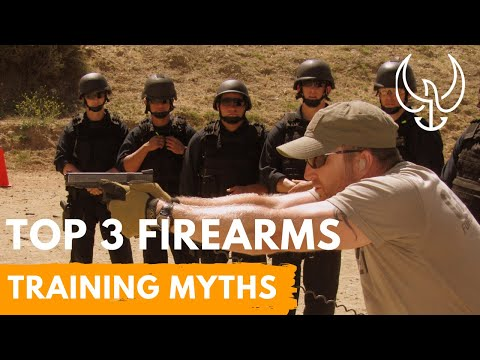 The Top 3 Firearms Training Myths: Recoil Control + Dry Fire + Live Fire