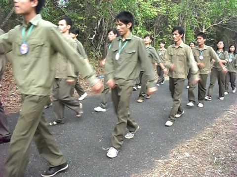 """[trại Lộc Ninh 2009 - KTX về nguồn] Quân đoàn 4 - Đi """"đội ngủ"""""""