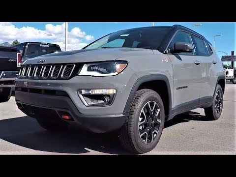 2019 Jeep Compass Trailhawk Grey