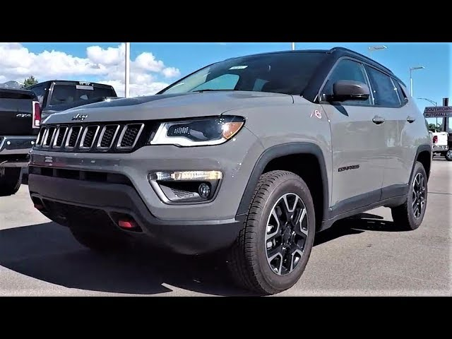 2019 Jeep Compass Trailhawk Is The New Compass Worth 40 000
