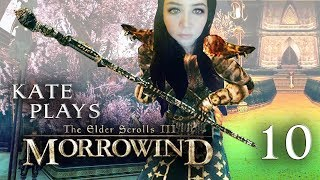 Kate Plays Morrowind | Elder Scrolls III Blind Let's Play | Episode 10: Trapped  Forever 😫