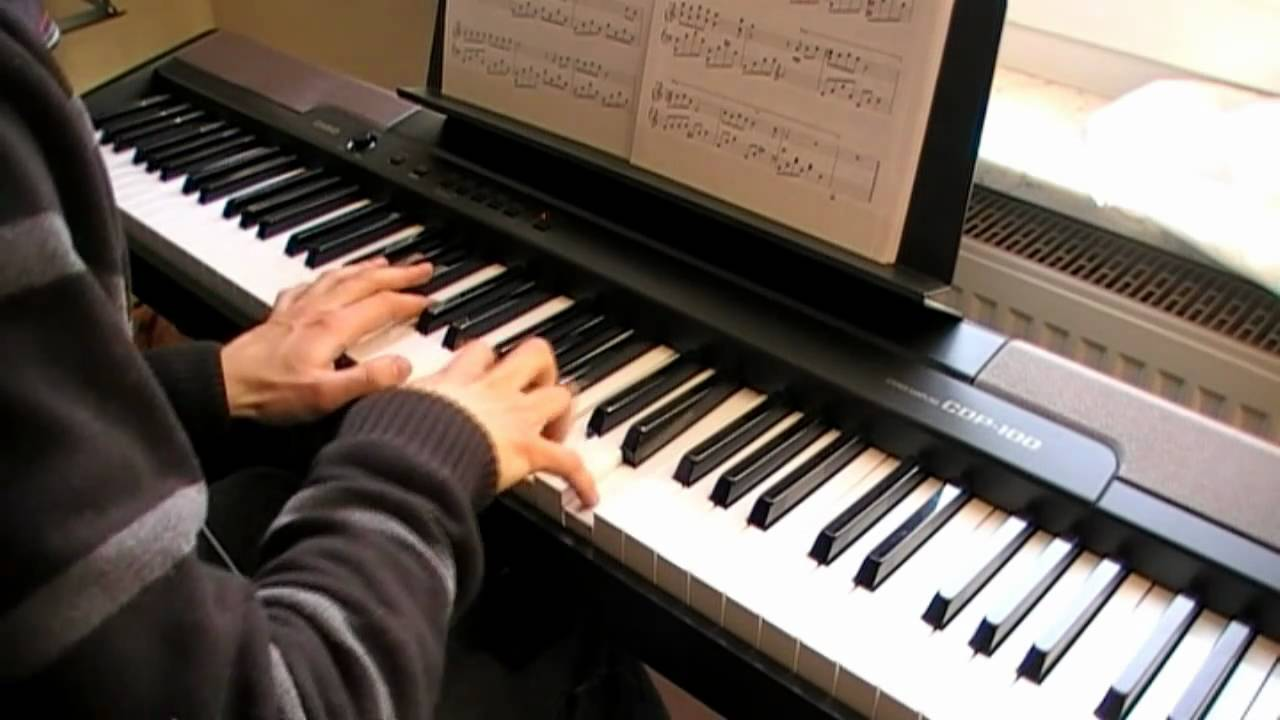 xiao yu xie li ke bai i ii i ii played on piano more feeling dynamic