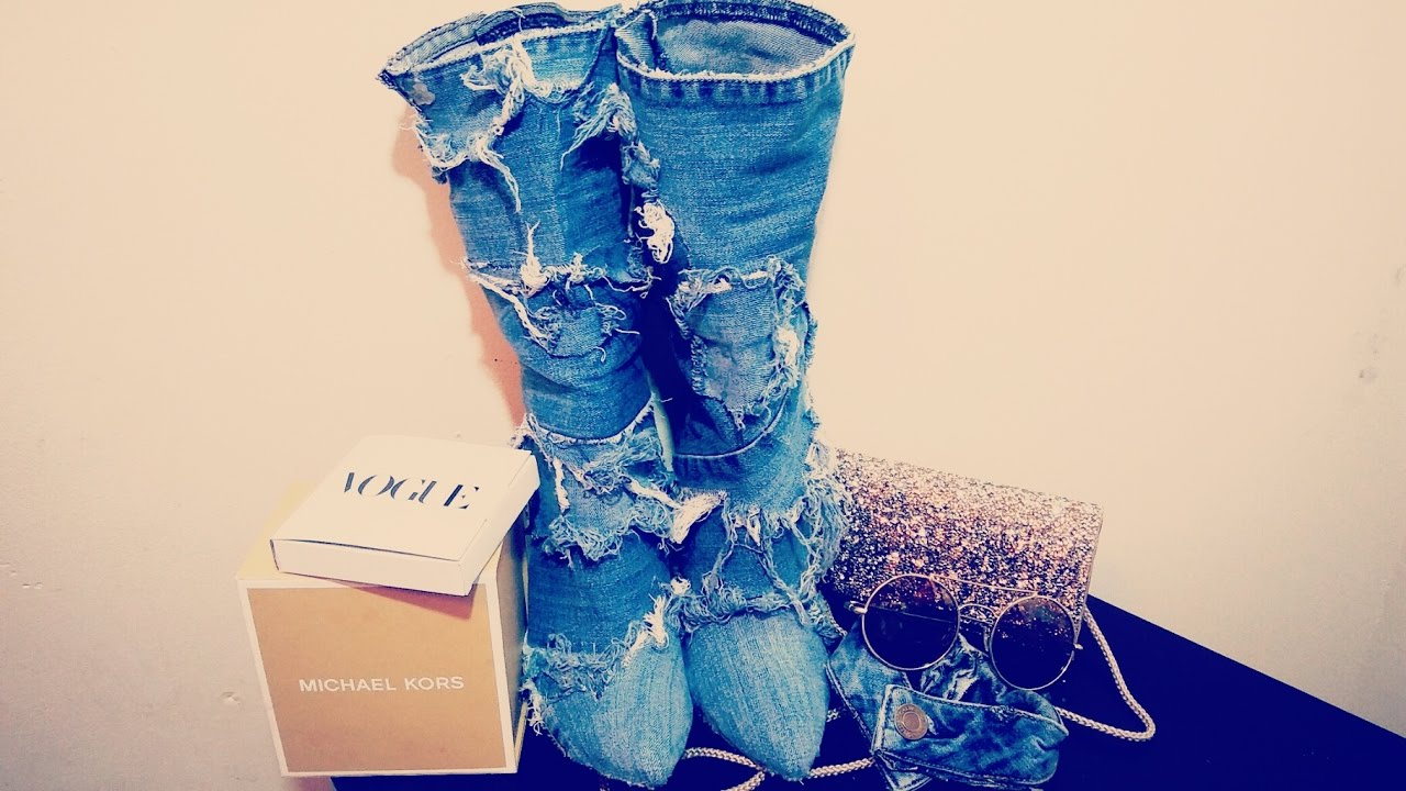 blue jeans uggs