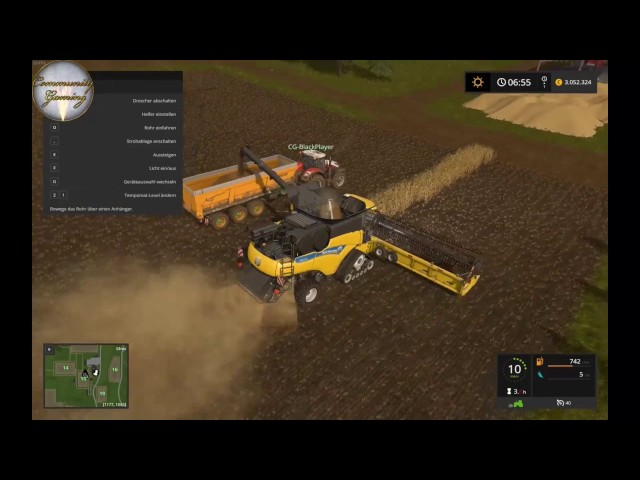 Let's Play Landwirtschafts Simulator 2017   Ernte am Hof   Folge #021
