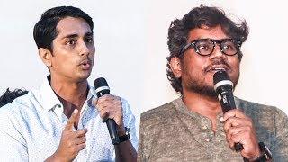 """Yuvan Comeback-னு சொன்னீங்கனா அடிச்சுருவேன்"" | Siddharth | Peranbu"