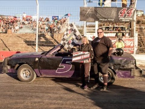 Pure Stock Dash For Cash Barona Speedway 7-13-2019