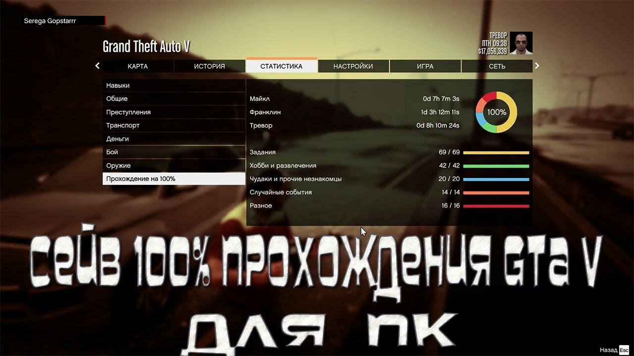 Скачать Полное Прохождения GTA 5 на ПК