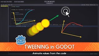 How To Animate With Tween And GDscript: Godot Tutorial