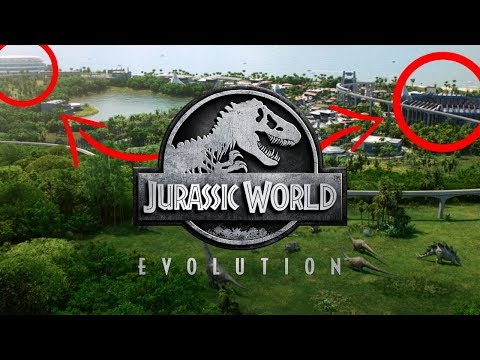 PROOF THAT AVIARIES AND MARINE CENTRES ARE IN JURASSIC WORLD: EVOLUTION?!