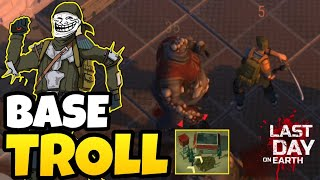 INVADI A BASE EVOLUIDA MAIS TROLL DO JOGO! Last Day On Earth