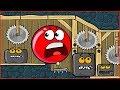 О нет ! Нас СЛОВИЛИ ! КРАСНЫЙ ШАРИК - новая веселая игра ! Мультик Для детей !