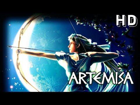 Artemisa, diosa de la caza y representación de la luna - Sello Arcano