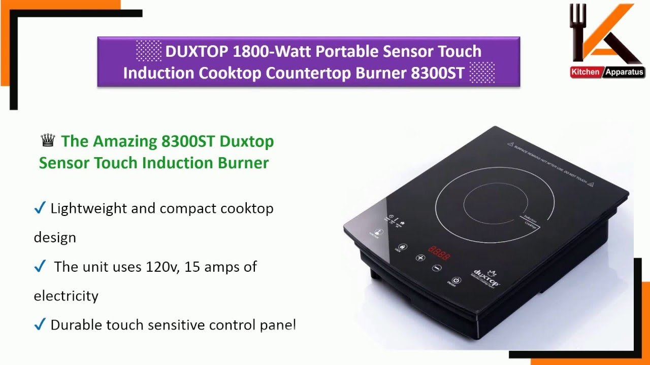 countertops duxtop induction portable cook countertop cooktop professional smart burner watt top modular touch