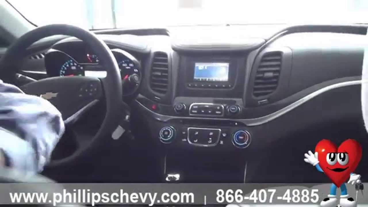 2015 Chevy Impala LS  Interior Features  Phillips Chevrolet  Chicago Dealership New Car Sales
