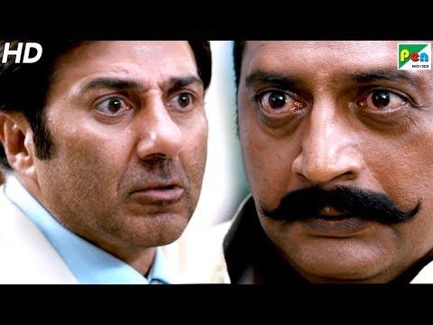 सनी देओल ने मारा प्रकाश राज को थप्पड़ | Singh Saab The Great Best Scene | Full Hindi Movie