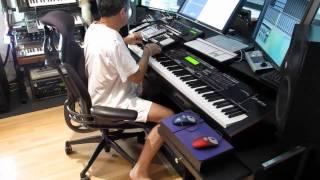 TRANSFORMER MUSIC DAW TABLE
