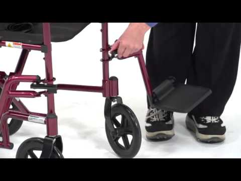 Drive Medical - Aluminum Transport Chair