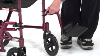 Drive Medical - Aluminum Transport Chair
