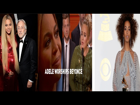 Grammy President Responds To Solange's Racism Accusation concerning Adele Beating Queen Bey