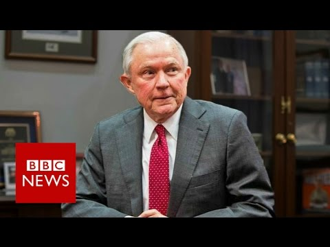 Trump Attorney General Jeff Sessions under fire over Russia meetings - BBC News