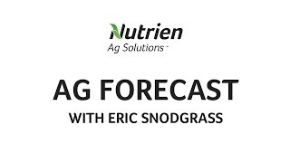 Nutrien Ag Solutions Ag Forecast - Sept 16, 2019