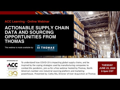 ACC Learning - Actionable Supply Chain Data And Sourcing Opportunities From Thomas