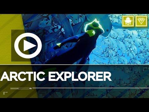 Arctic Explorer Trophy Achievement - Discover a Polar Region / ABZU