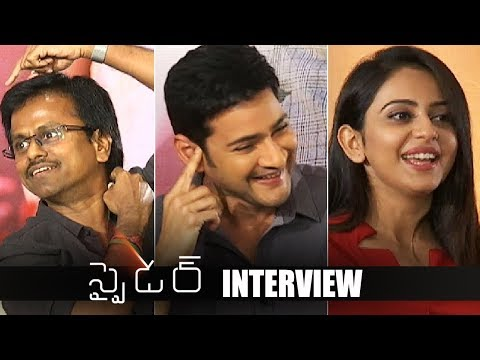 SPYDER Team Special Interview | Mahesh Babu | Rakul Preet Singh | TFPC