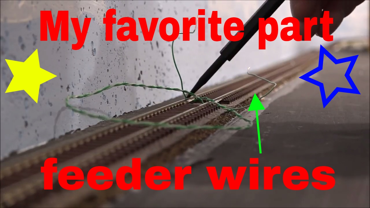 Running Track Feeders For A Model Railroad And Prep The Wiring Tortoise Switch Machines
