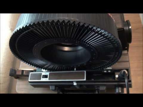 1976 GAF 35mm Slide Projector #1680