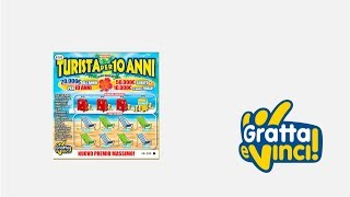 Gratta e Vinci: Turista per 10 Anni - Tagliandi 65/69 [Serie 04]