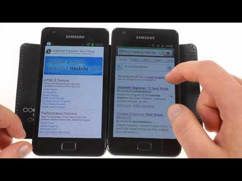 Samsung I9100 Galaxy S II - ICS vs. Gingerbread