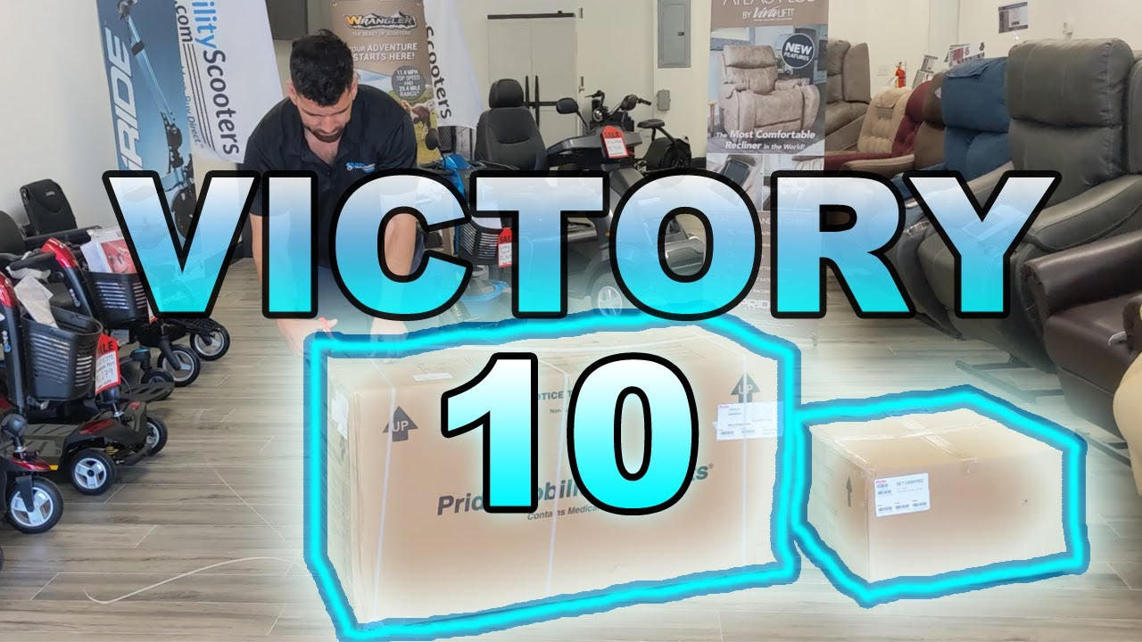 Victory 10-2 3 Wheel (S6102) Mobility Scooter Unboxing